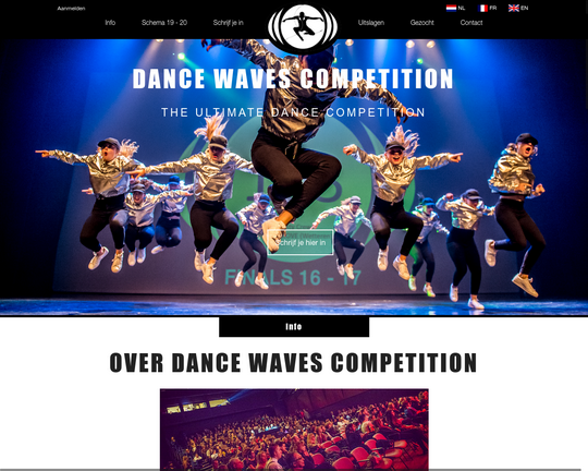 Dance Waves Competition Logo